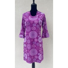 Erma's Closet Purple Print Dress