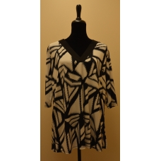 Misia Black and White Tunic
