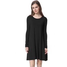 Piko Black Dress