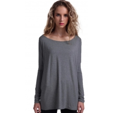 Piko Heather Grey Top