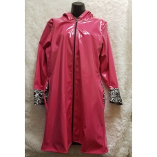 Shane Lee Pink Light Weight Rain Coat