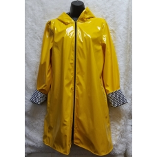 Shane Lee Yellow Light Weight Rain Coat