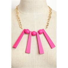 WFS Gold and Pink Necklace